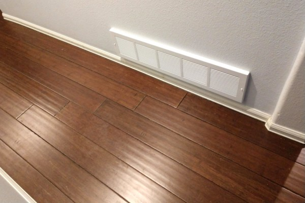 bamboo wood flooring in a sustainable remodel
