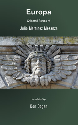 Europa: Selected Poems of Julio Martínez Mesanza
