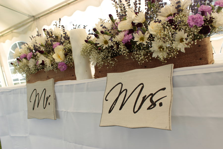 Mr. and Mrs. Seating
