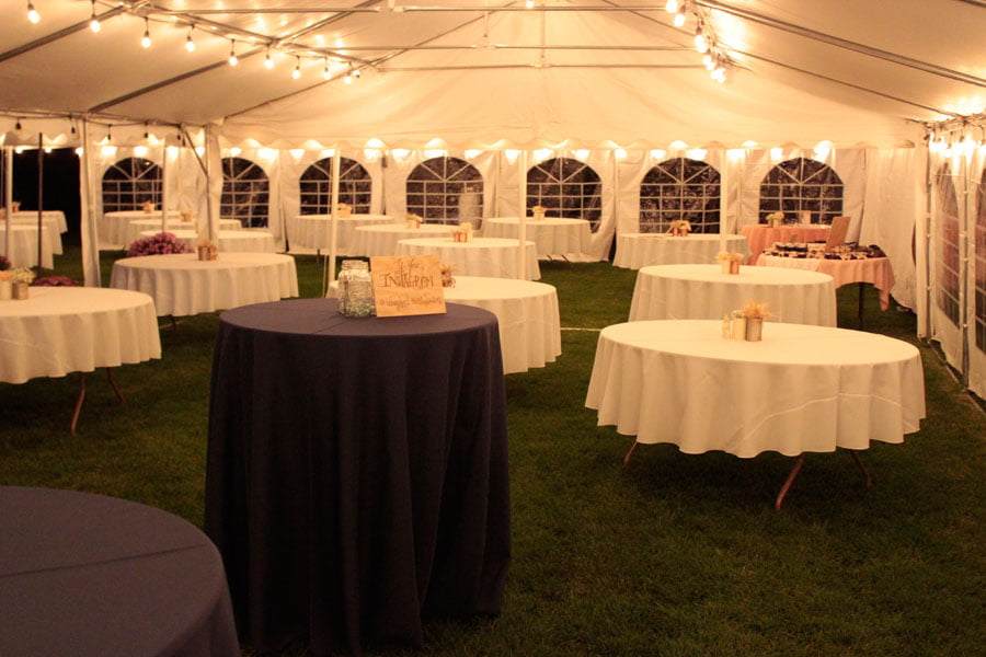 Tented Hall of Tables