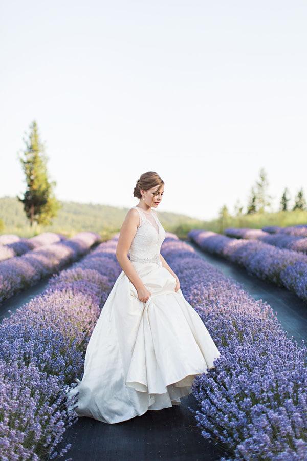 Profile of Bride.
