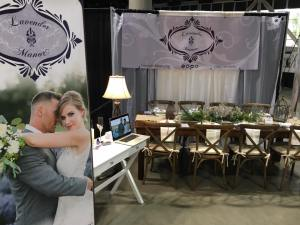 Side of Wedding Show Display