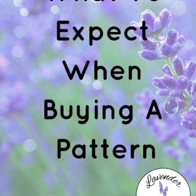 What To Expect When Buying A Pattern
