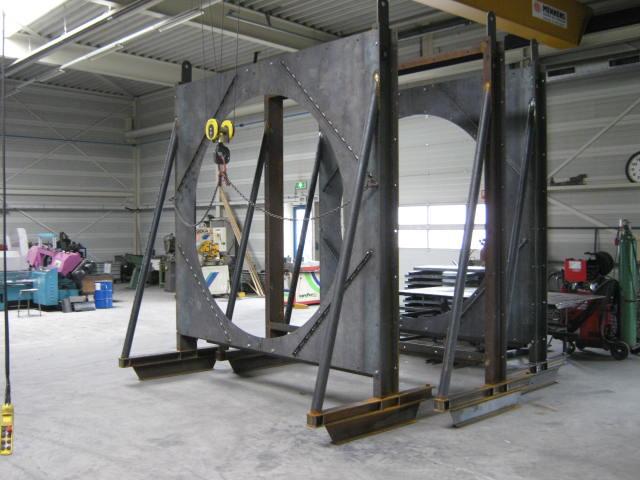 Frame voor ventilator en radiator