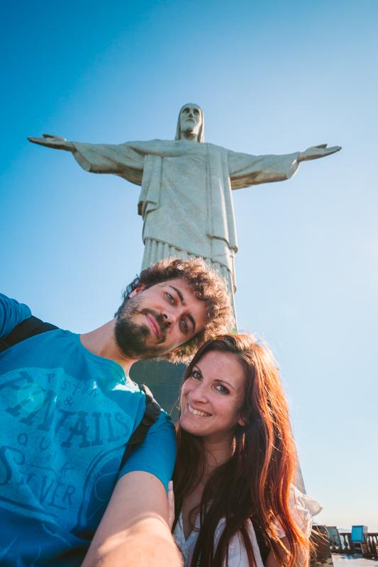 Corcovado e Cristo Redentore salire sul tetto di Rio de