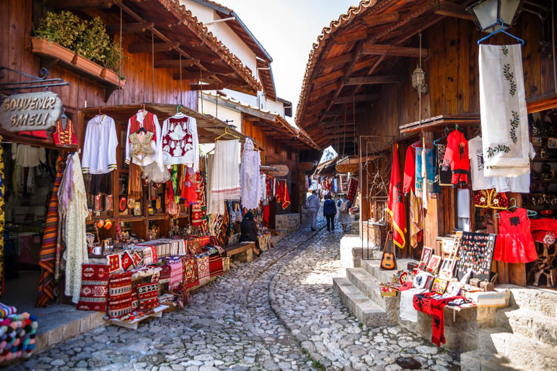 albania on the road