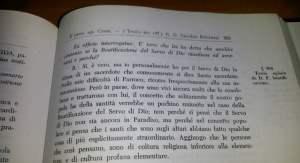 Testimonianza di don Amilcare Bombeccari nella Positio super virtutibus di don Vincenzo Grossi