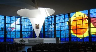 Divino amore-nuovo santuario-interno