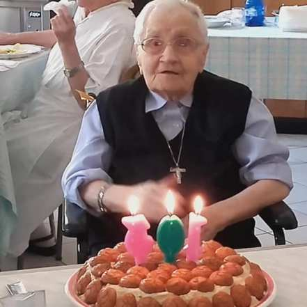 103 anni sr Franceschina