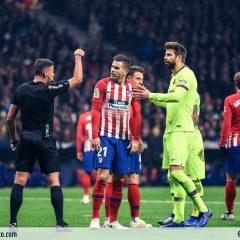 Las mejores fotos del Atleti-Barcelona