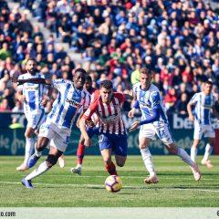 Galería de imágenes del Leganés-Atleti
