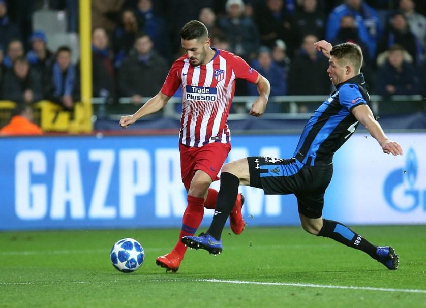 Koke sortea a un rival. Foto: atleticodemadrid.com