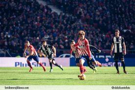 Griezmann lanza el penalti de la victoria. Foto: Rubén de la Fuente