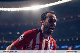Godín celebra el gol frente a la Juve. Foto: atleticodemadrid.com