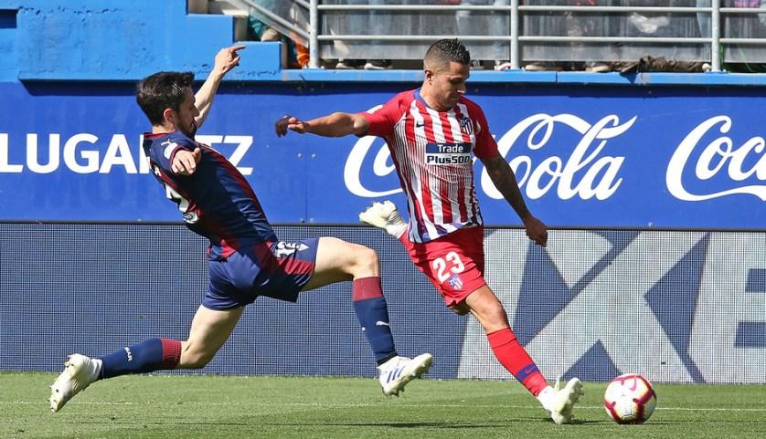 Buen partido de Vitolo, sobre todo en la primera mitad. Foto: atleticodemadrid.es