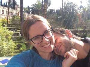 Marina Díaz y Pablo - vida de pareja en LVEF