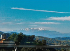 Snow-capped Pyrenees