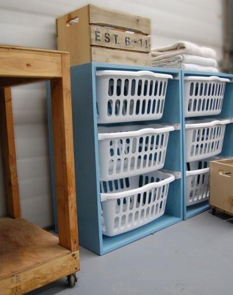 Ideas para hacer un mueble organizador para ropa