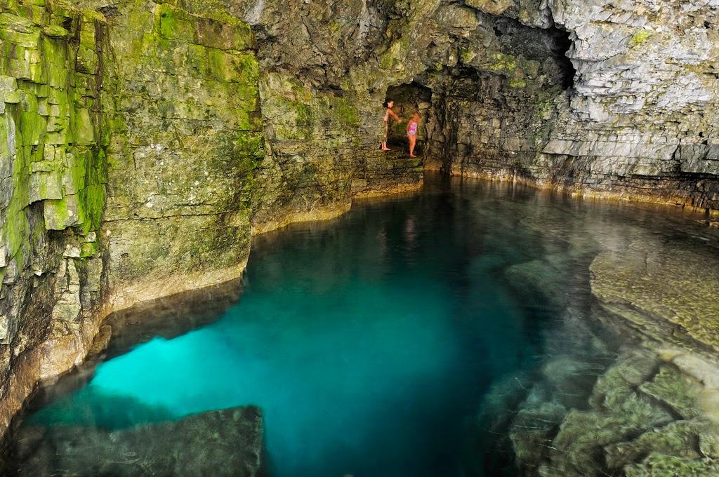 10 paradisacas piscinas naturales del mundo