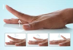 dor de artrite nas mãos levante o dedo