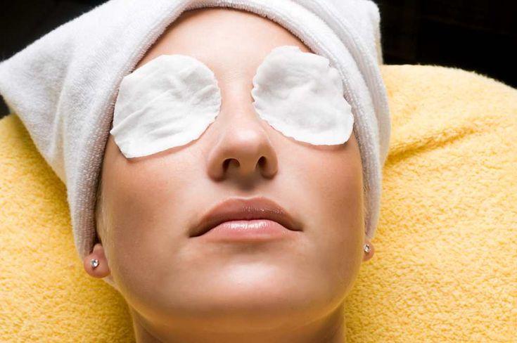 almohadillas de peipinos en los ojos