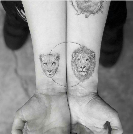30 Tatuajes Para Parejas Perfectos Para Lucir Los Dos