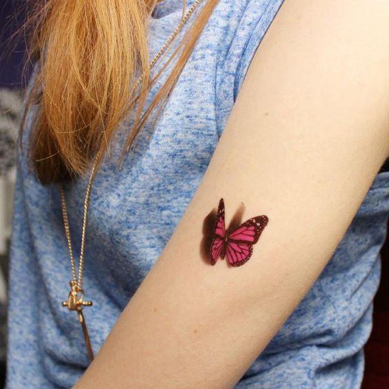 Tatuajes De Mariposas Que Te Encantarán