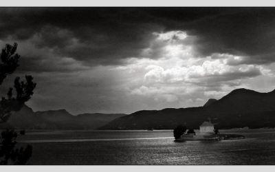 Crépuscule sur Embrun
