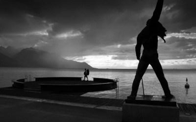 Début d'orage sur Montreux