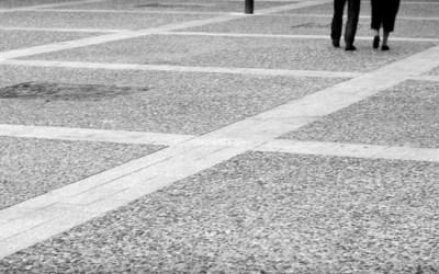 Walk the line …