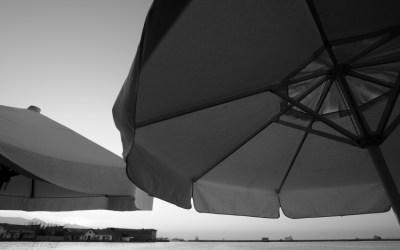 Lea parasols de mon bistrot habituel