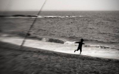 Titre: la course à la mer