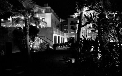 A dark summer night