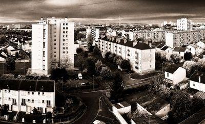 Panorama des quartiers ouvrier de Reims