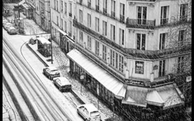 Neige à Paris