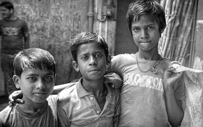 Petits chiffonniers de Jaïpur