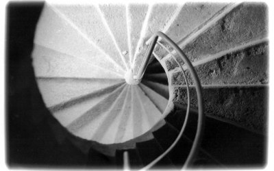 Spinning stair