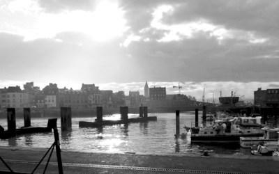 L'hiver, un port…