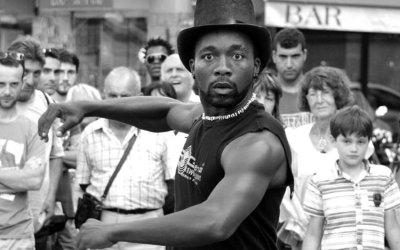 Danseur au chapeau…
