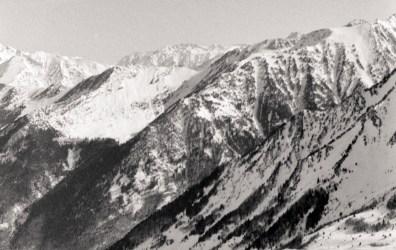 ski, le matin