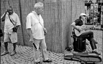 le musicien de rue