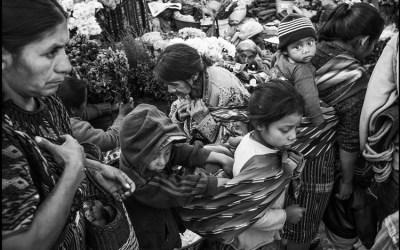 un marché au Guatemala