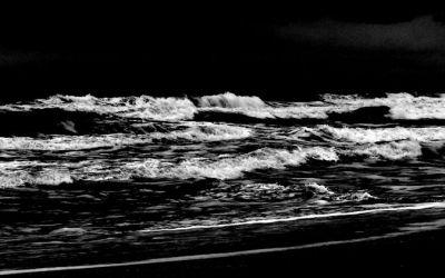 Eaux noires en mer de chine