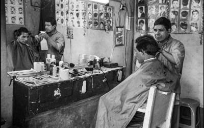 un salon de coiffure au Guatemala