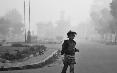 Brouillard à Antsirabé
