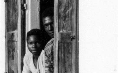 A volets ouverts Kpago Bénin 1990