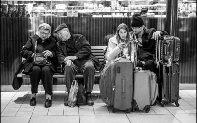 Ambiance de gare