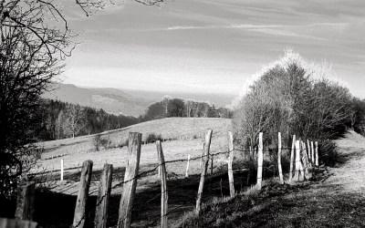 Hiver en Auvergne