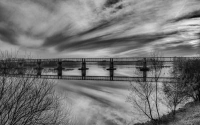 La Loire en hiver prés de Nantes