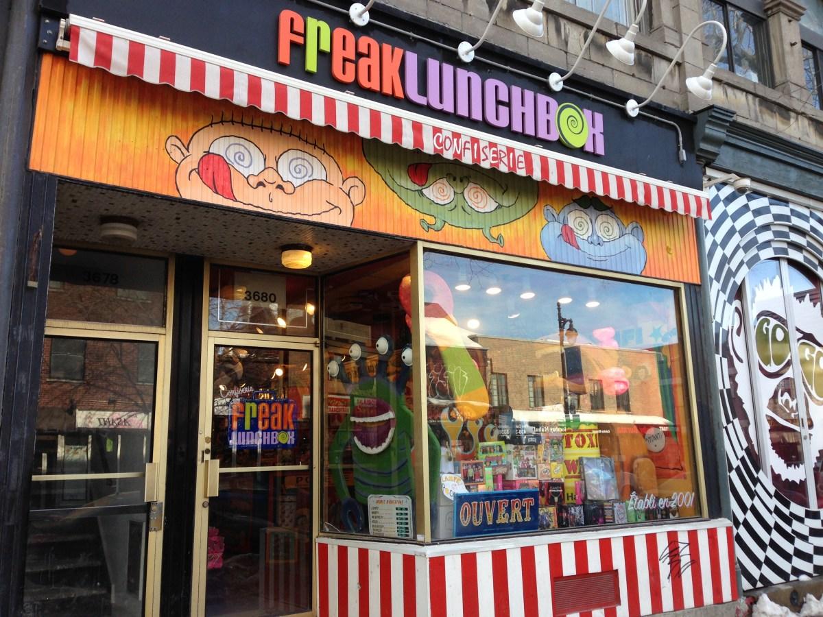 Freaky Lunchbox pour les fans de bonbons !